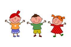 Cartoon characters Royalty Free Stock Image