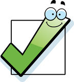 Cartoon Checkbox Royalty Free Stock Image