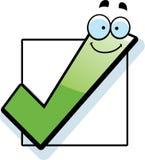 Cartoon Checkbox Royalty Free Stock Image