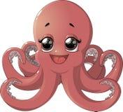 Cute octopus cartoon Royalty Free Stock Images