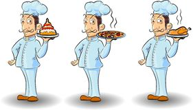 Cartoon chefб vector Stock Photography