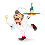 Cartoon Chef Stock Images