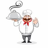 Cartoon Chef Stock Photo