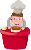 Cartoon chef Stock Photos
