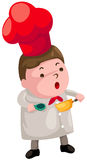 Cartoon chef Stock Image