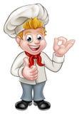Cartoon Chef or Baker Character Stock Photos