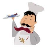 Cartoon chef Royalty Free Stock Image