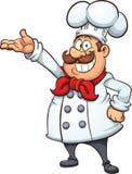 Cartoon chef Royalty Free Stock Photo