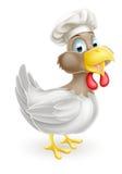 Cartoon Chef Hat Chicken Royalty Free Stock Photo