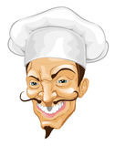Cartoon chef illustration Royalty Free Stock Images