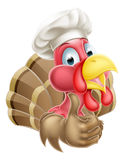 Cartoon Chef Turkey Royalty Free Stock Photo