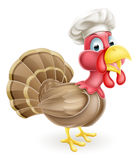 Cartoon Chef Turkey Stock Photography