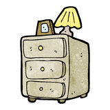 Cartoon chest of drawers Stock Photo