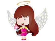 Cartoon Chibi Angel Royalty Free Stock Photo