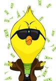 Cartoon chick Stock Photography