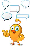 Cartoon Chick Character Royalty Free Stock Images