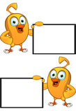 Cartoon Chick Character Stock Images
