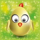Cartoon chick. Stock Image