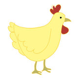 Cartoon chicken Stock Photo