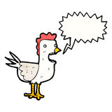 cartoon chicken Royalty Free Stock Photography