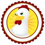 Cartoon chicken Stock Image