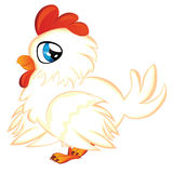 Cartoon Chicken Royalty Free Stock Image