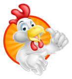 Cartoon Chicken Design Royalty Free Stock Photos