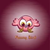 Cartoon chicken. Royalty Free Stock Photo