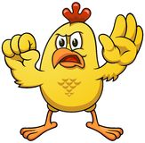 Cartoon chicken 03 Stock Photo