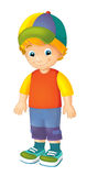 Cartoon child - activity - illustration for children Stock Photo