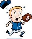 Cartoon Child Baseball Royalty Free Stock Photo