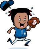 Cartoon Child Softball Royalty Free Stock Photo