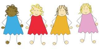 Cartoon Children Stock Image