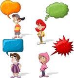 Cartoon children Stock Photo