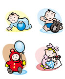 Cartoon childs Royalty Free Stock Photography