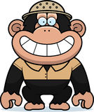 Cartoon Chimpanzee Safari Stock Photos