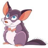 Cartoon chinchilla animal Royalty Free Stock Photos