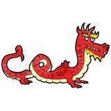 cartoon chinese dragon Royalty Free Stock Image
