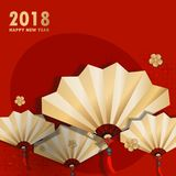 Cartoon chinese new year royalty free illustration