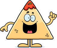 Cartoon Chips and Salsa Idea Stock Image