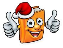 Cartoon Christmas Book Character Mascot Stock Photography