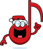 Cartoon Christmas Music Idea Royalty Free Stock Photography