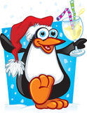 Cartoon Christmas Penguin Royalty Free Stock Images
