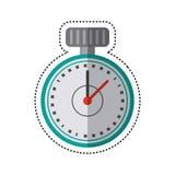 cartoon chronometer time sport tool Stock Photography