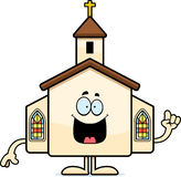 Cartoon Church Idea Stock Photos