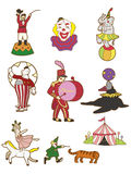 Cartoon Circus icon Stock Photos