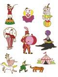 Cartoon Circus icon Stock Photos