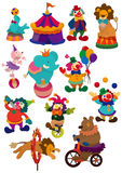 Cartoon circus icon Royalty Free Stock Photography