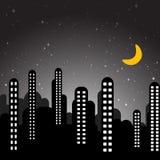 Cartoon city vector Royalty Free Stock Photo