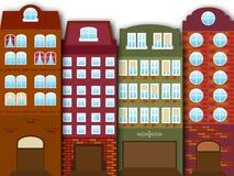Cartoon city Stock Photos